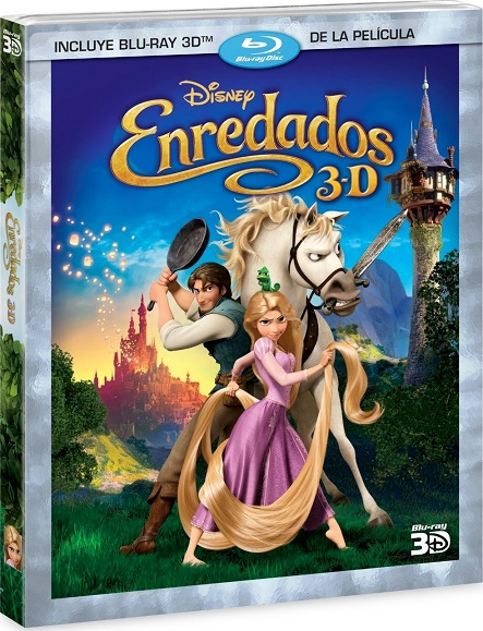 Tangled 3D (Enredados 3D) (2010) m1080p BDRip 3D Half-OU 7.8GB mkv Dual Audio AC3 5.1 ch
