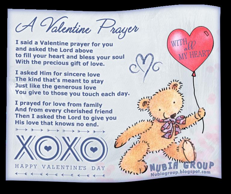 friday february 14 2014 - Valentine Prayer