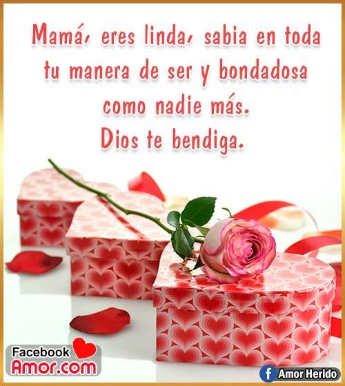 mensaje bonito para mamá