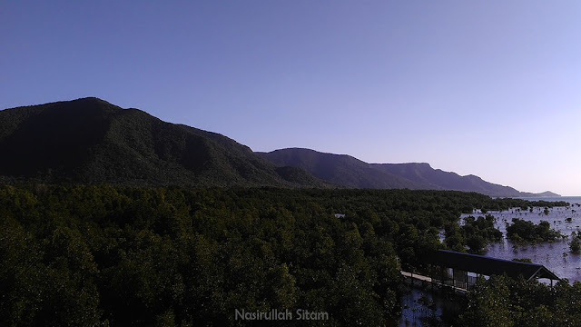 Pemandangan lain dari atas Gardu Pandang Mangrove Karimunjawa