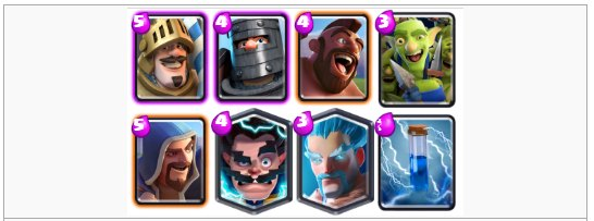 Deck Arena 9 terkuat Clash Royale