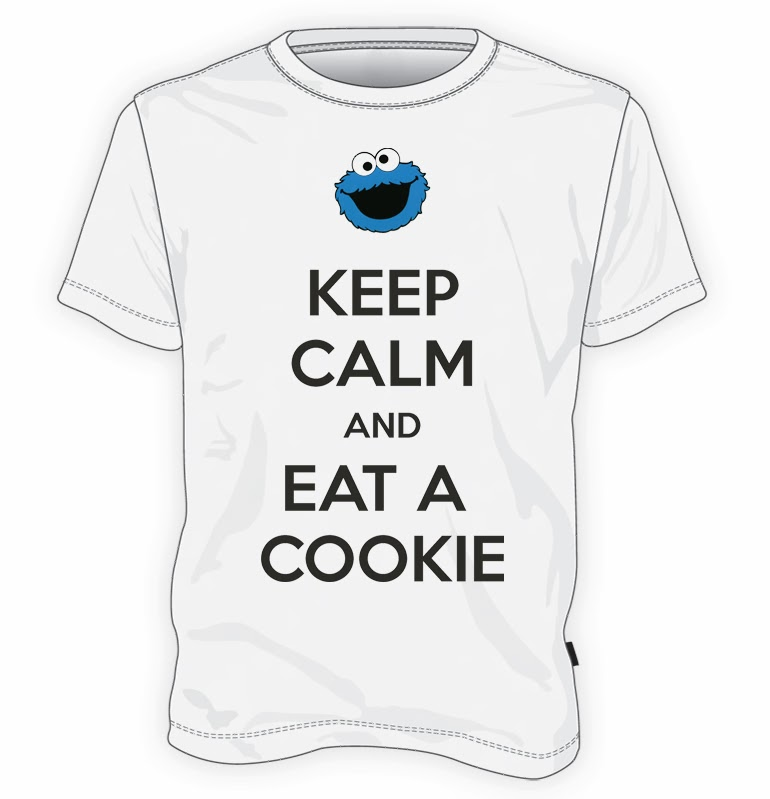 koszulka Keep calm and eat a cookie