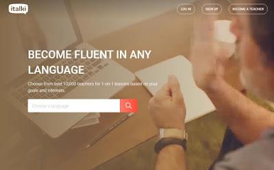 موقع italki لتعلم اللغات