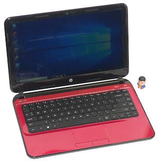 Laptop Hp 14-b009AU Slim Second di Malang