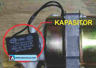 Kapasitor Kipas Angin yang Putarannya Pelan dan Lambat