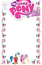 My Little Pony Friendship is Magic #11 Comic Cover Blank Variant