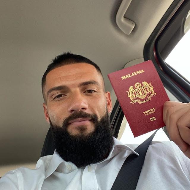 Albanian striker Liridon Krasniqi chooses to play for the Malaysian national team