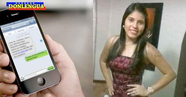 Joven apuñaleada en Trujillo por olvidar borrar un mensaje en su teléfono