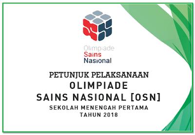 Buku petunjuk teknis pelaksanan lomba OSN SMP 2018