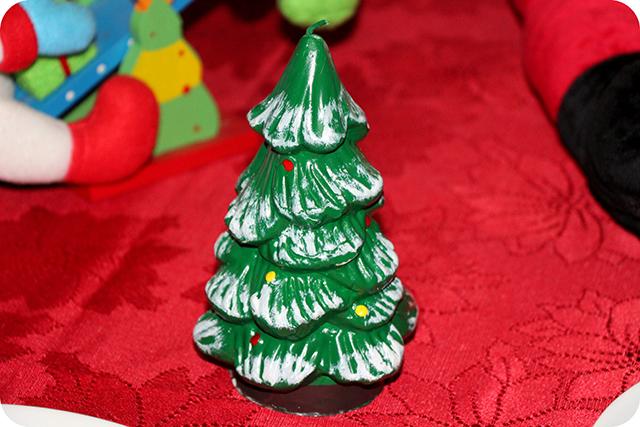 Decoração da Mesa : Festa de Natal : Vela de Árvore