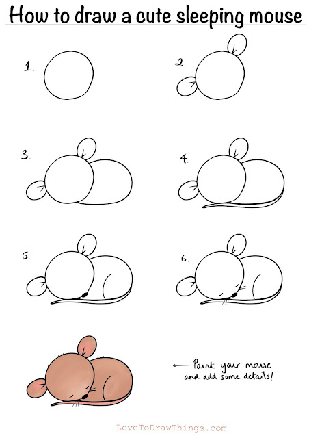 Easy animals to draw. Cute animals to draw. Easy drawing tutorials