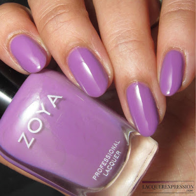 swatch of Tina from the Zoya Charming Spring 2017 nail polish collection