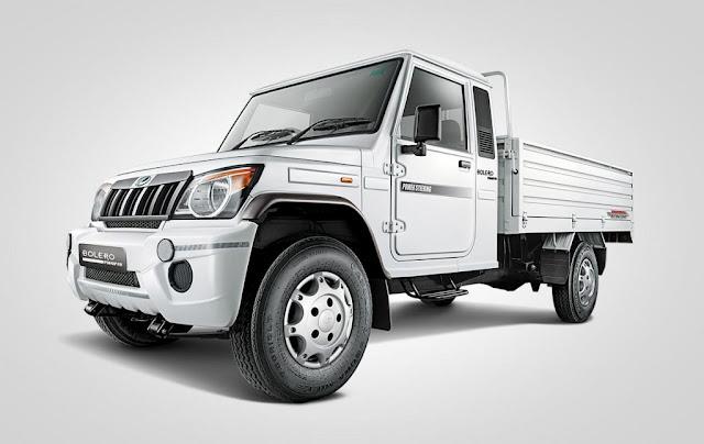 Mahindra-Big-Bolero-Pik-Up-front-launched