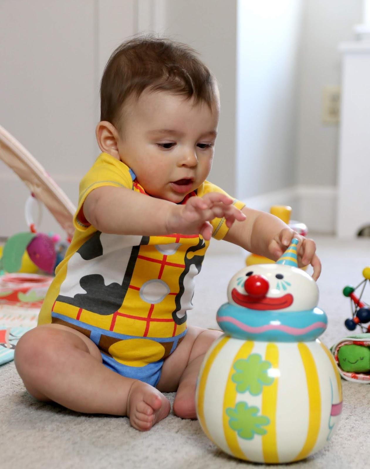 Toy Story Baby Bodysuits 5-Pack woody onesie