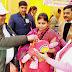 सीएमओ ने नवजात को पोलियो ड्राप पिला किया बूथ का शुभारम्भ