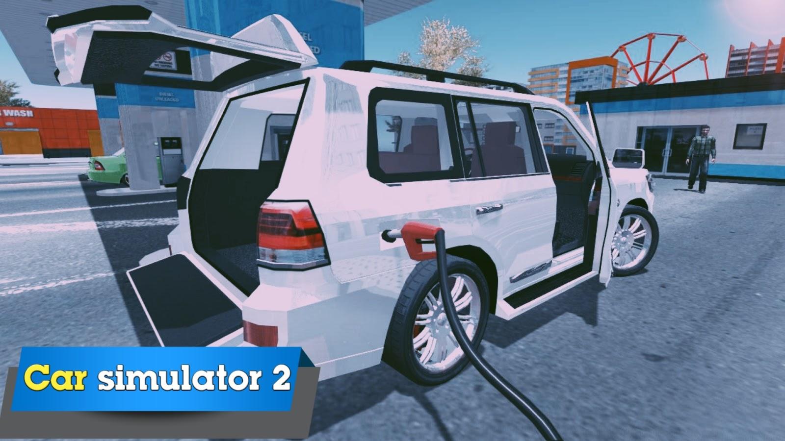 اقوى لعبة محاكي السيارات Car Simulator 2 للاندرويد