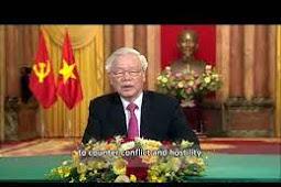 Inilah Pidato Presiden Vietnam, Nguyen Phu Trong Berbicara di Debat Umum PBB ke 75