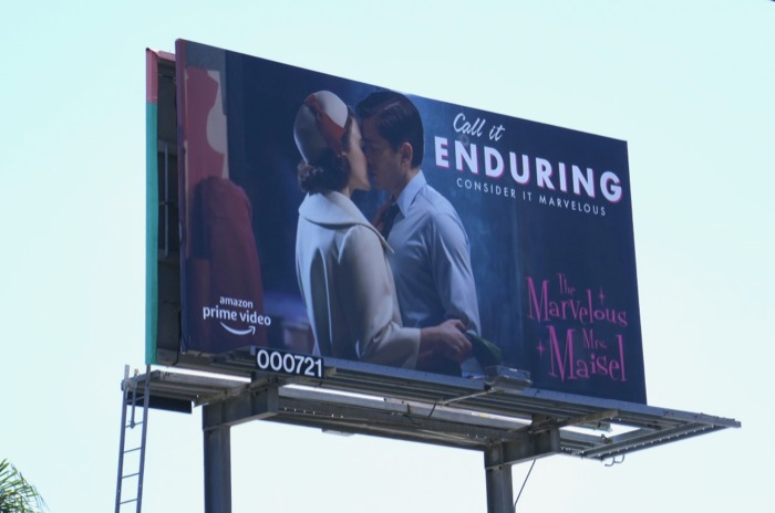 Mrs Maisel Call it Enduring Emmy FYC billboard