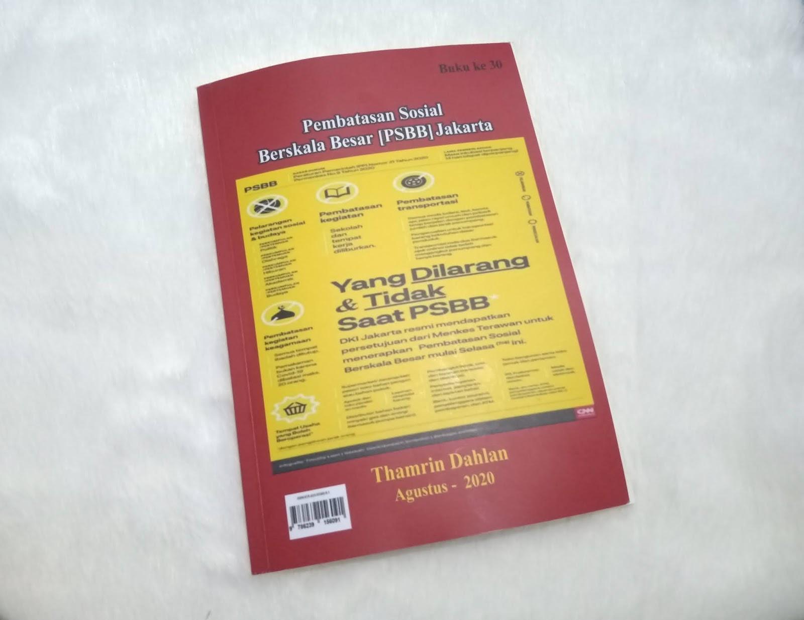 Buku ke 30 Thamrin Dahlan