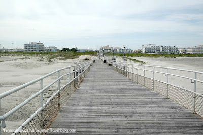 Wildwood Crest Beaches and Pier in New Jersey