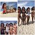 Rockville Hottie Kamo Modisakeng Shows Off Her Bikini Body with her girlfriends