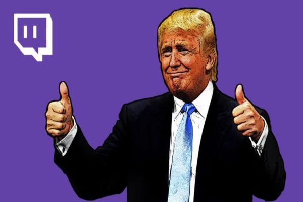 منصة Twitch تعيد حساب ترامب
