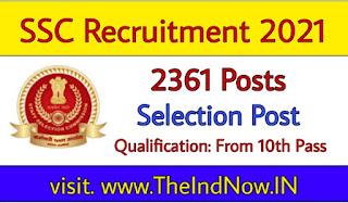 ssc-selection-post-recruitment-2021