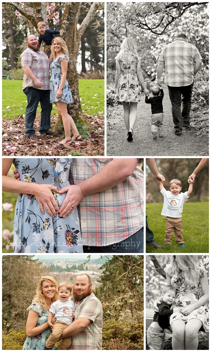 eugene oregon photographer pregnancy reveal