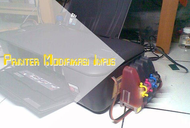 Printer Modifikasi Infus
