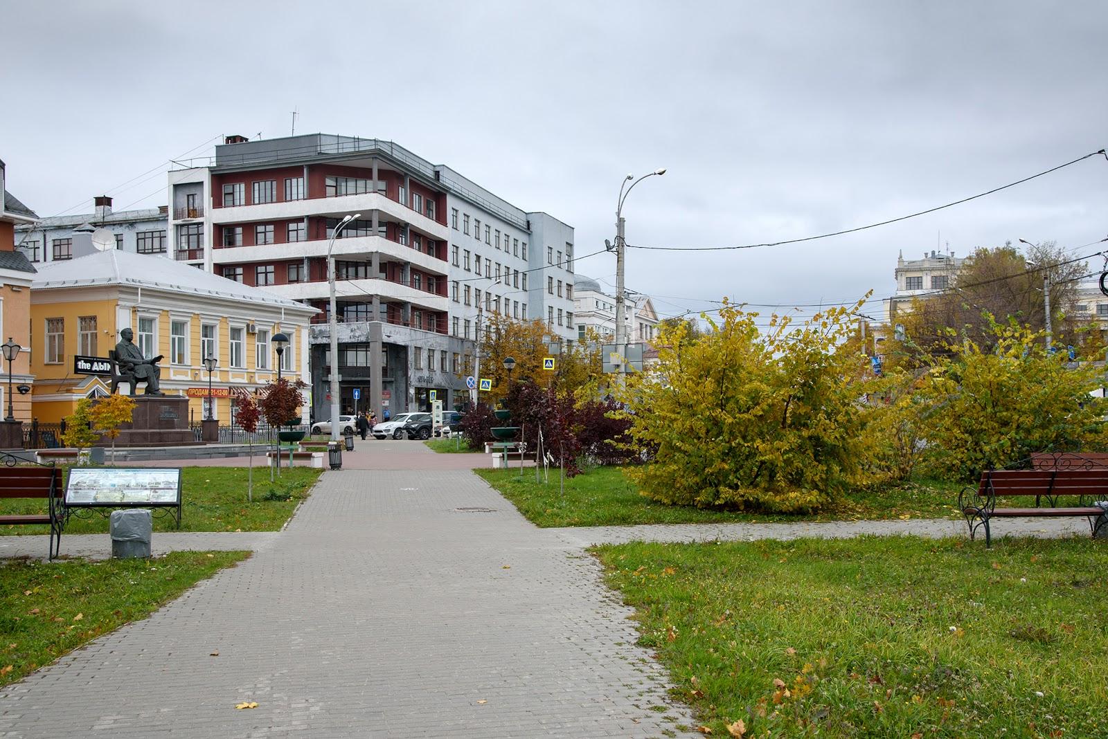 Бывшая гостиница Центральная. Иваново