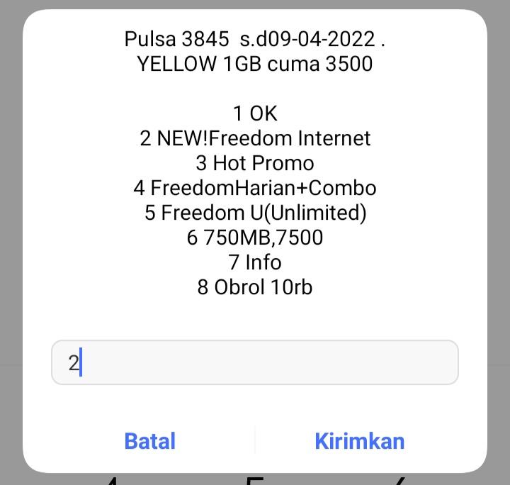 Teknoinfo09 Cara Transfer Paket Internet Indosat Ooredoo 2021