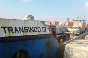 Mesin Listrik PLN Tiba Melalui Pelabuhan Pamatata Selayar