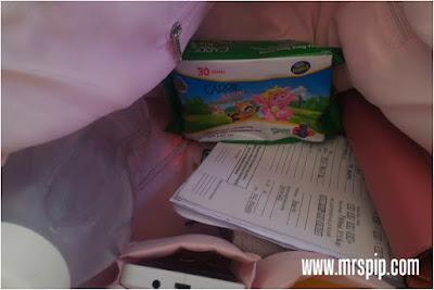 wajib ada carrie junior wet tissue dalam handbag