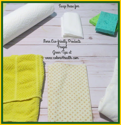 Reusable Household Cleaning Cloths are Eco-friendly