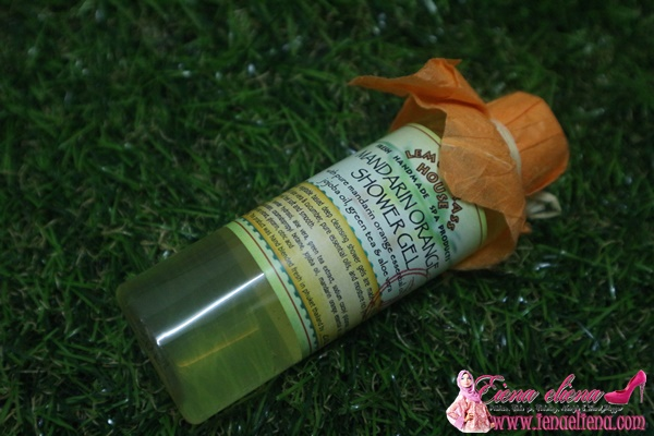 Mandarin Orange Shower Gel Lemongrass House