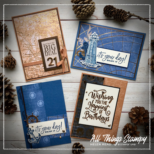 World of Good masculine stampin up helen read allthingsstampy