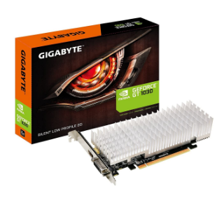 GIGABYTE GeForce GT 1030 Silent Low Profile (GV-N1030SL-2GL)