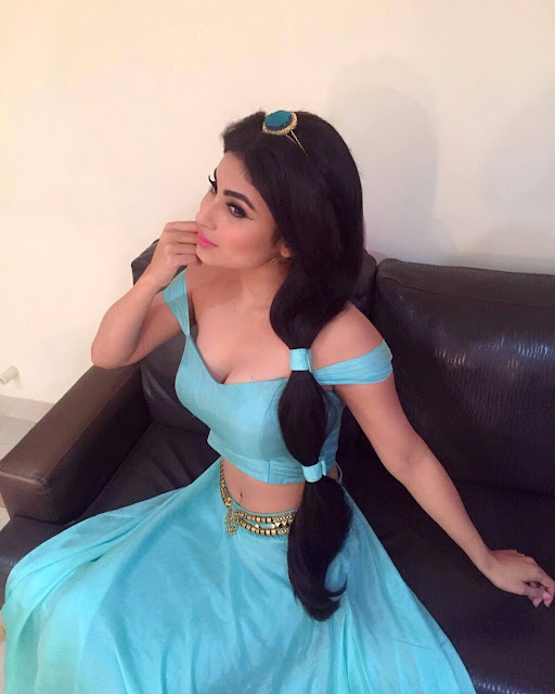 Mouni Roy jasmine disney princess