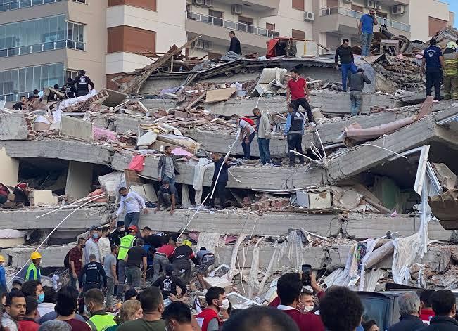 Earthquake in Rajasthan 12 February
