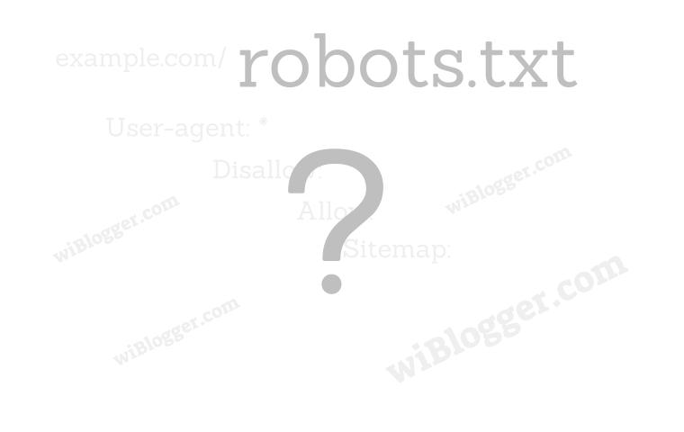 pengertian, fungsi, peranan robots.txt