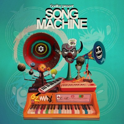 Gorillaz - Song Machine, Season One Strange Timez (Deluxe) (2020) - Album Download, Itunes Cover, Official Cover, Album CD Cover Art, Tracklist, 320KBPS, Zip album