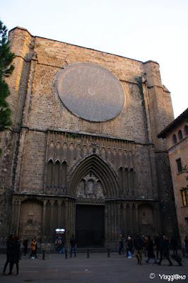 Basilica di Santa Maria del Pi nella Placa de Sant Josep