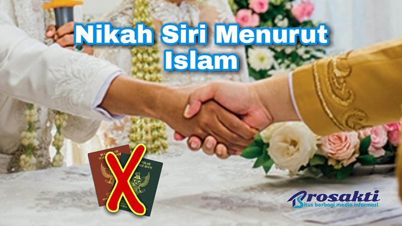 Nikah Siri Menurut Islam