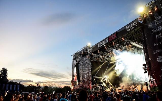 Cosquín Rock Chile 2018 - Informació