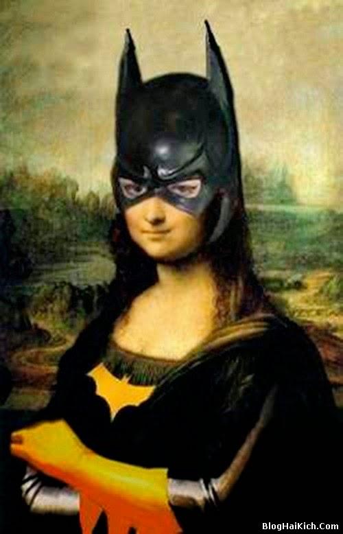 ảnh chế nàng Mona Lisa - Tranh 4