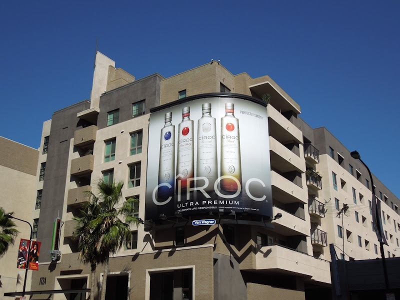 Ciroc ultra premium billboard