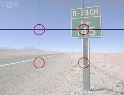 تكوين الصورة و النسبة الذهبية وقواعد التقاط الصورة