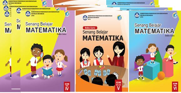 Download Buku Guru dan Siswa Pelajaran Matematika Kelas 4,5,6 SD/MI