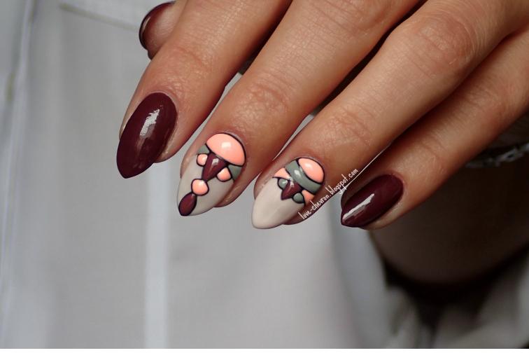 inspiracje paznokcie hybrydowe semilac