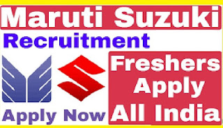 Maruti Suzuki India Limited Manesar & Gurgaon Cars Plant ITI Apprentice Requirement By Online Exam Last Date Apply on 10th April 2021
